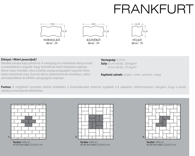 Frankfurt technikai információi