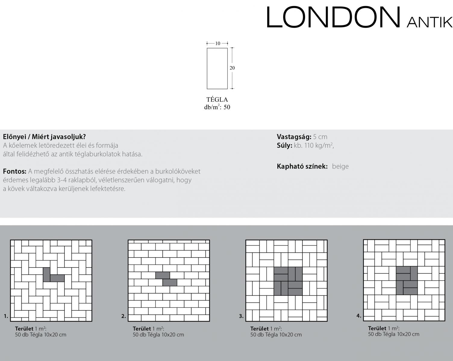 London antik technikai információi